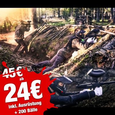SSV - 4 Std. Paintball ab 24€