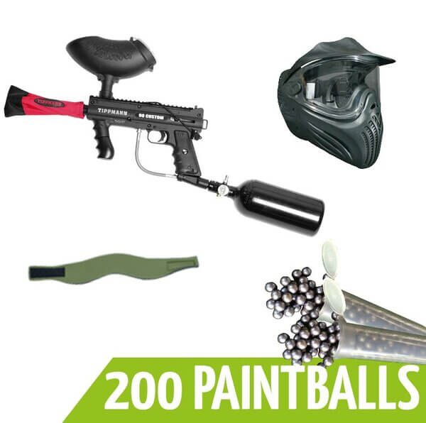 Paintball Komplettpaket im Paintball Movieland Hamburg